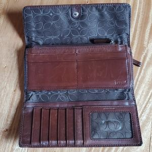 Fossils Leather Wallet
